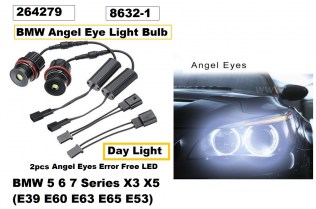 Крушки Led Angle Eye BMW X5 E53 E39 E60 E61 E63 CANBUS