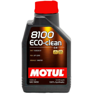 Масло MOTUL 8100 ECO-CLEAN 5W30 1L