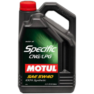 Масло MOTUL SPECIFIC CNG/LPG 5W40 5L