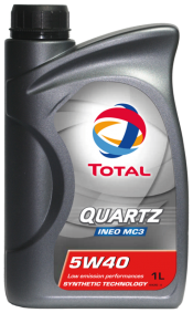 Масло TOTAL QUARTZ INEO MC3 5W40 1L