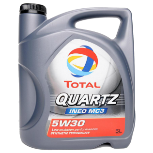 Масло TOTAL QUARTZ INEO MC3 5W30 5L